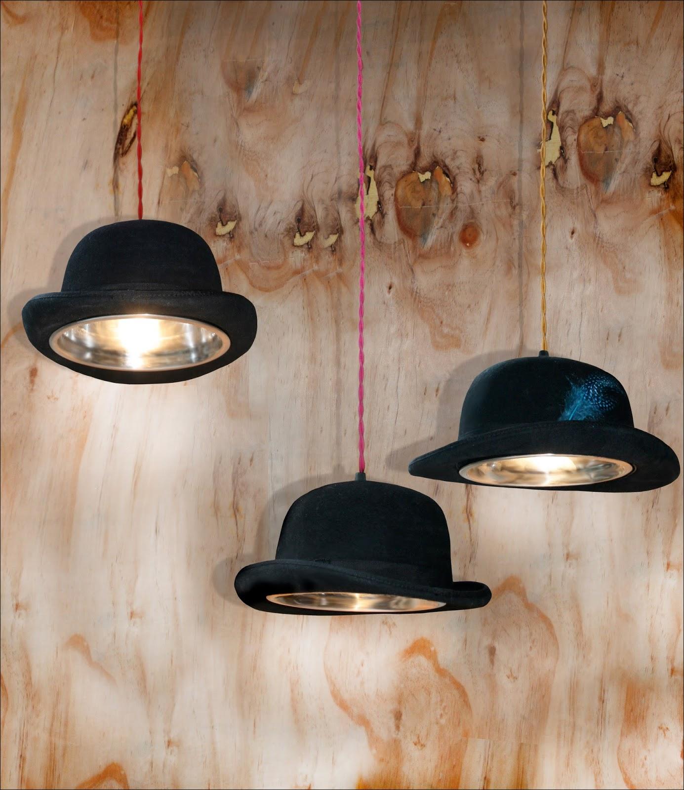 Bowler Hat Pendant Light   Lamp   Top   Ceiling