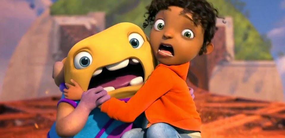 Cada um na sua Casa | Trailer dublado da aventura de ficção da DreamWorks, do diretor de Formiguinhaz