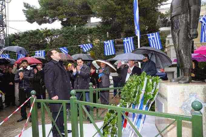 Η Χρυσή Αυγή τίμησε την επέτειο της Εθνικής Παλιγγενεσίας σε όλη την Ελλάδα - Φωτορεπορτάζ