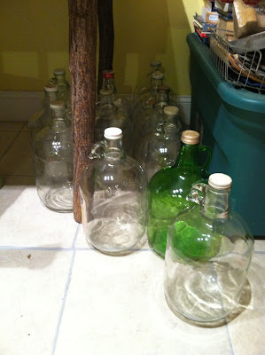 DIY Bottle Lamp {rainonatinroof.com} #DIY #Lamp #Bottle