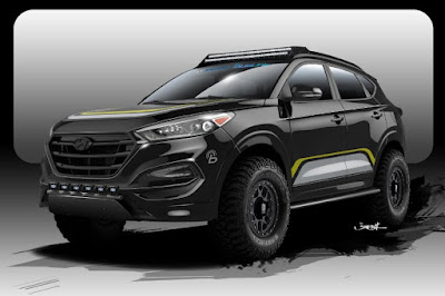 Hyundai Tucson (Rockstar Performance Garage) (2016 Rendering) Front Side