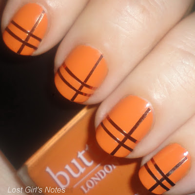 stripping tape manicure butter london minger