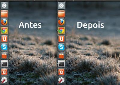 Antes e depois, Ubuntu Touch