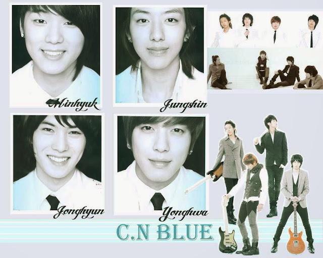 C.N Blue members