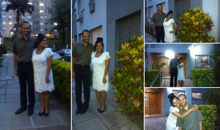 noivos, presentes, noivado, jantar, festa, noiva, pedido de casamento
