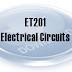 ET201 - ELECTRICAL CIRCUIT