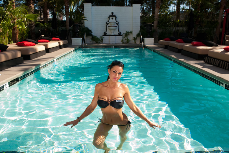 Vegas Now Has A Naked Pool At The Artisan Hotel Boutique