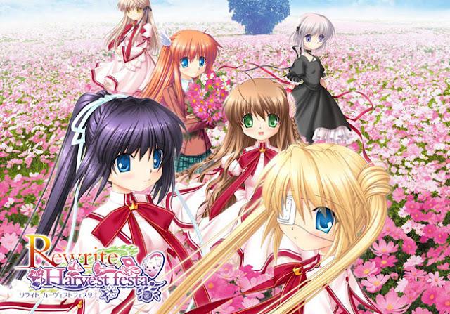 Musim Panas 2016 Anime 'Rewrite' Akan Mulai Tayang Perdana