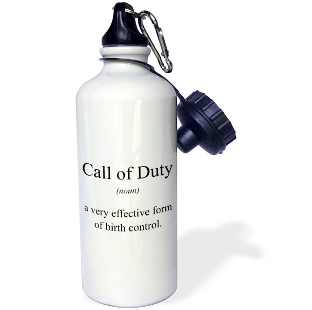 Gift Ideas for Gamers: Call of Duty Water Bottle
