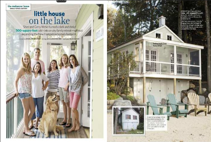 Cottage living magazine com small rustic cottage living for Country cottage magazine