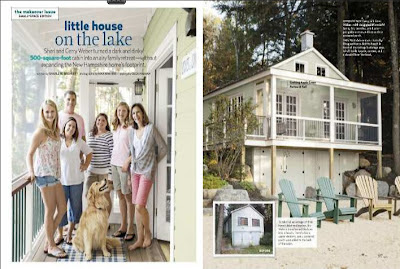 Bonin Architects cottage featured in Country Living September 2012
