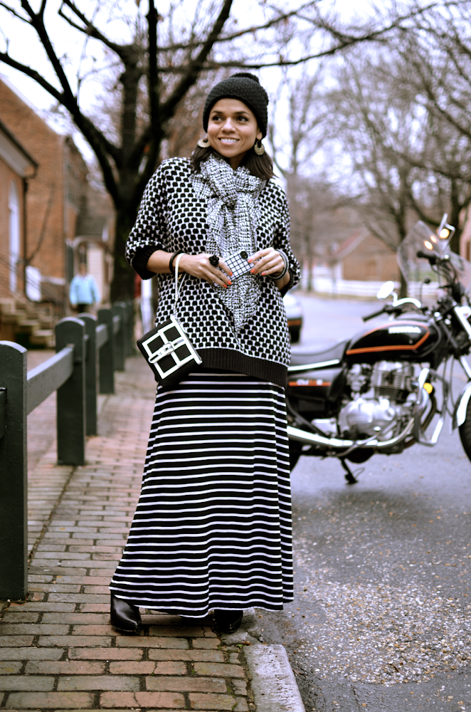 Black and White Prints Fashion Trend