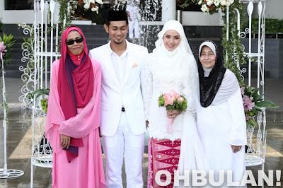 Gambar majlis pernikahan Farid Kamil dan Diana Danielle (6 Photo)