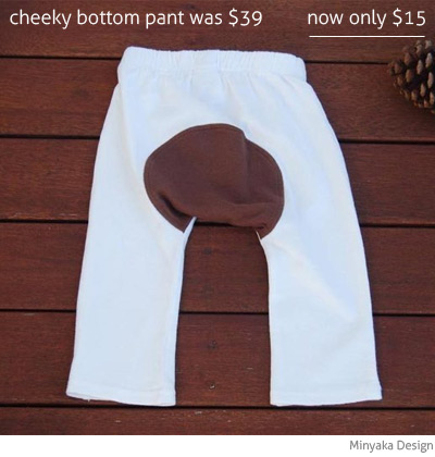 Minyaka Design cheeky bottom pant