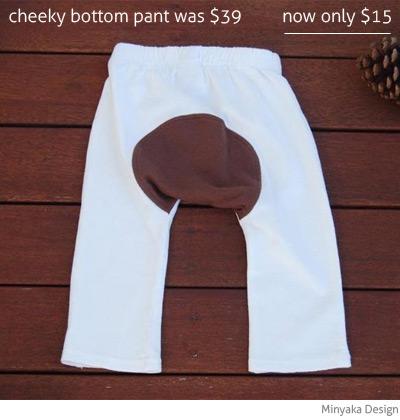 Minyaka Design cheeky bottom pant