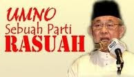 Sebahagian besar rakyat Malaysia gemar beri rasuah