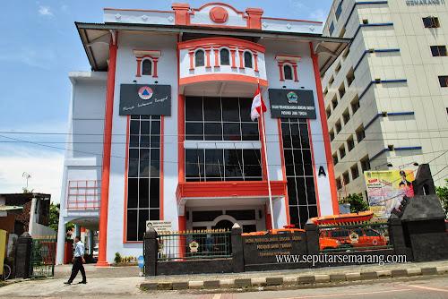 Foto Kantor BPBD Jateng Semarang