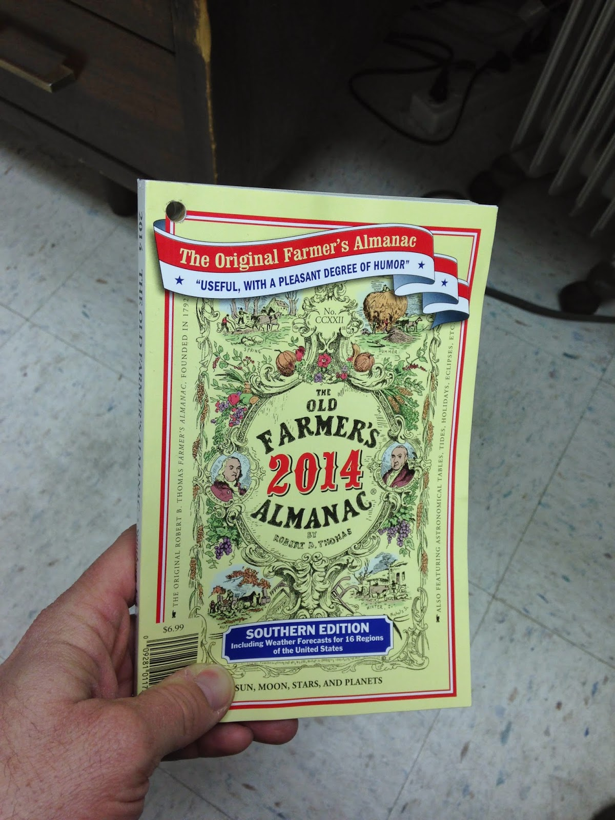 What Does The Old Farmer's Almanac Say?
