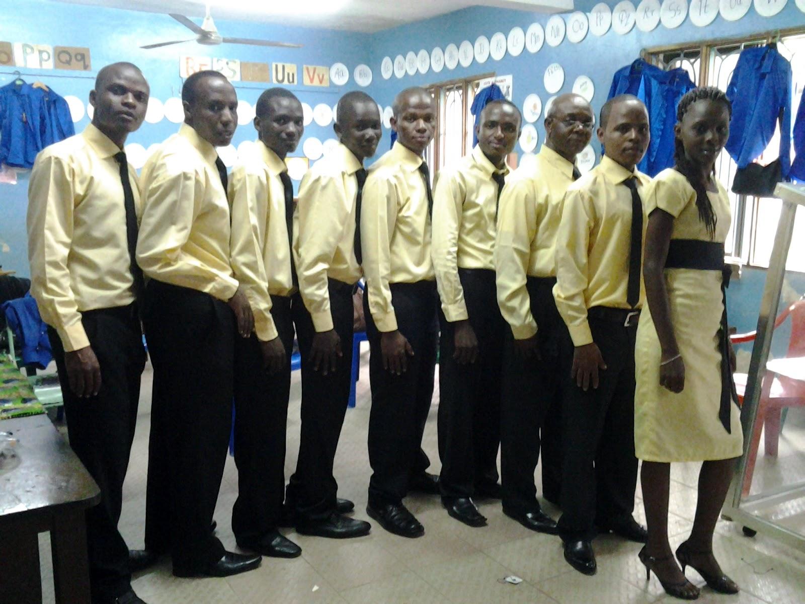 King's Choir ndani ya Chumba Cha ndani