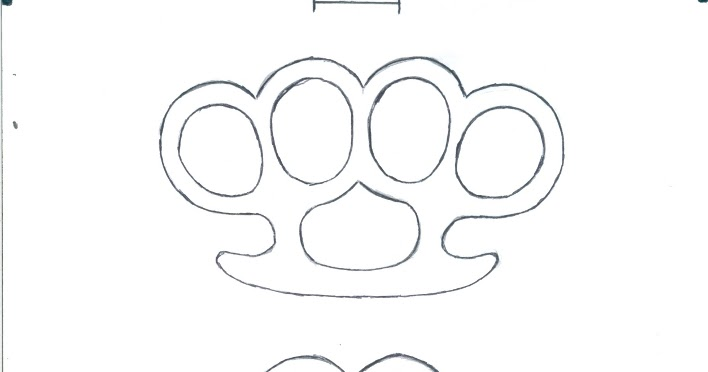 Weaponcollectors knuckle duster and weapon blog brass knuckles weaponcollectors knuckle duster and weapon blog brass knuckles knuckle duster templates part 2 of malvernweather Image collections