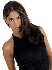 Melissa Loza mas joven y delgada