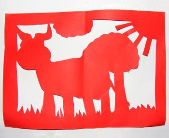 Chinese Paper Cut Craft