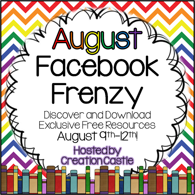 Photo of August Facebook Frenzy Teachingisagift