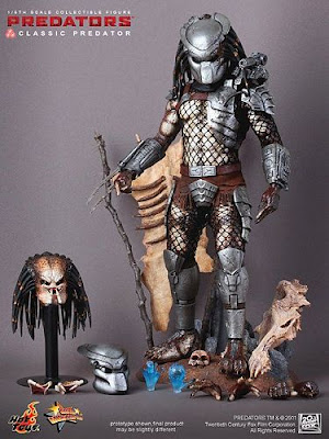 Hot Toys 1/6 Action Figure Predators - Classic Predator