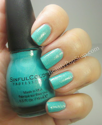 SinfulColors Crystal Crush Treasure Chest Swatch