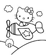 PARA PINTAR DIBUJOS Y CARETAS kitty