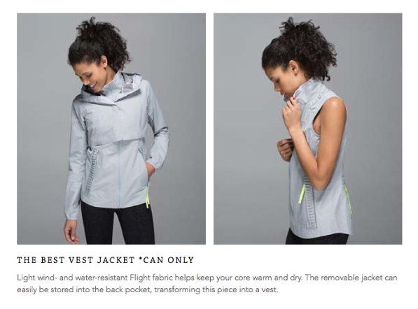 lululemon best vest jacket