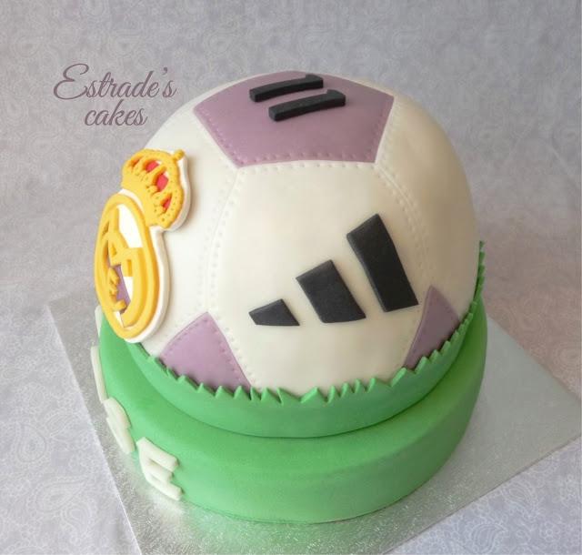 tarta balón del Real Madrid 4