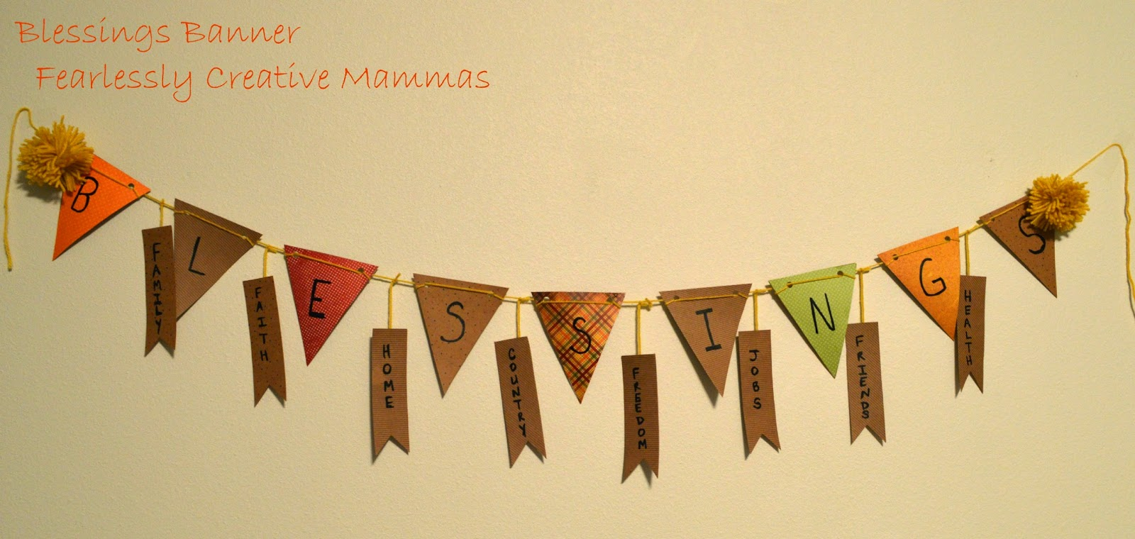 Blessings Banner with the Paper Pumpkin  #PaperPumpkin