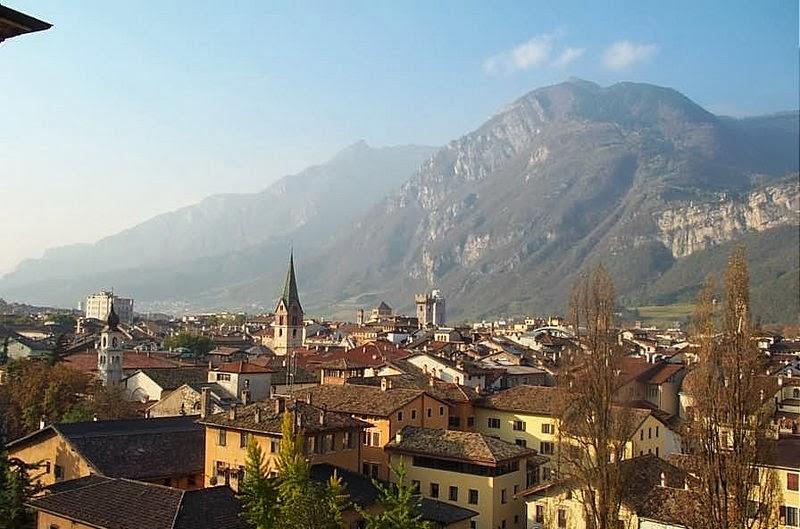 итальянский город тренто