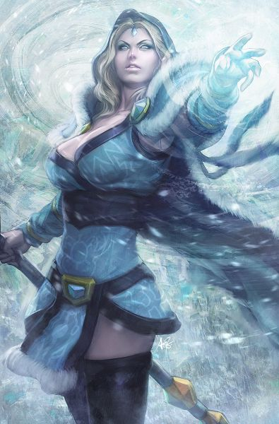 crystal maiden sexy pic