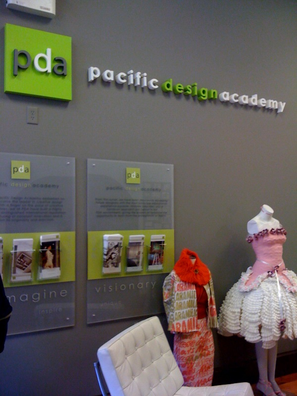 André & Associates Interpretation & Design: Pacific Design Academy