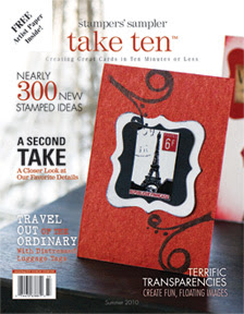 Cover Girl of Take Ten Summer 2010