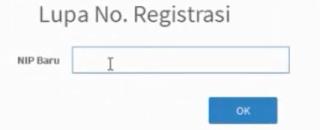 Tidak bisa cetak kode registrasi