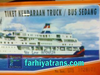 tiket kapal pengiriman kendaraan
