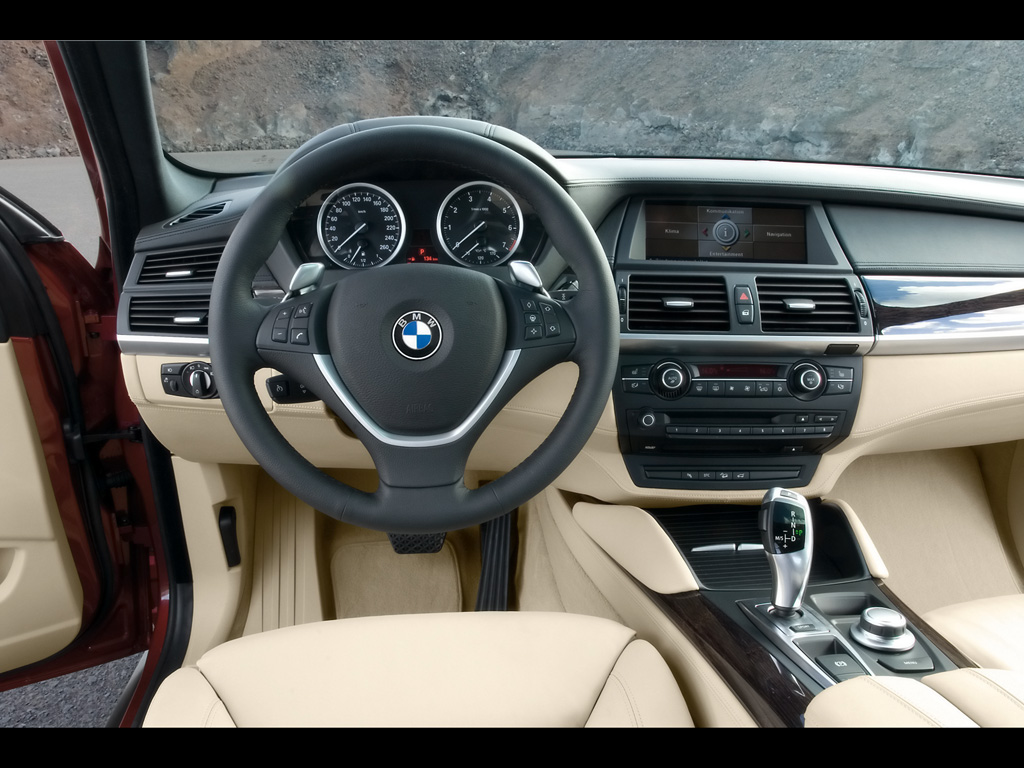 Wallpapers Cars Bmw X6 2011 Interior