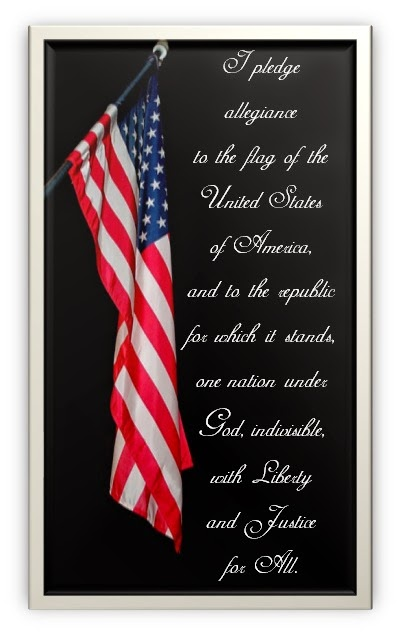 Free Pledge of Allegiance Printable