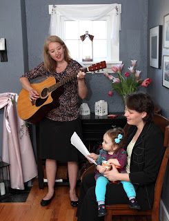 Emily and Jeanne perform - Patricia Stimac, Seattle Wedding Officiant