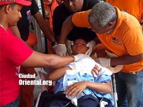 Minibús atropella 20 cadetes del CESA en el AILA