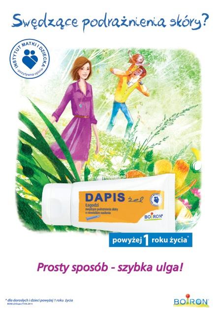 Żel DAPIS - Kampania Streetcom