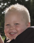 Oma's trots.......kleinzoon Ayden