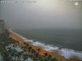 Live Webcam Acapulco, 2013, aktuell, Chiapas, Guerrero, Mexiko, Oaxaca, Oktober, Pazifische Hurrikansaison 2013, Raymond, Satellitenbild Satellitenbilder, Vorhersage Forecast Prognose, Hurrikan RAYMOND bei Mexiko