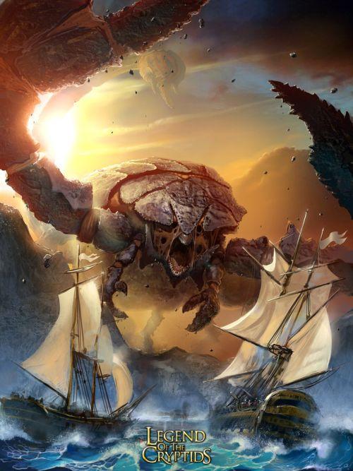 Pavel Romanov cynic-pavel deviantart ilustrações fantasia Monstros gigantes
