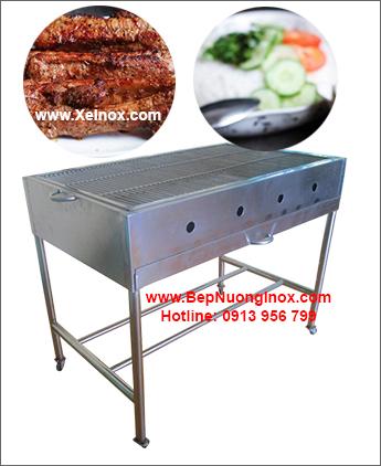 Bếp nướng than củi inox BN168