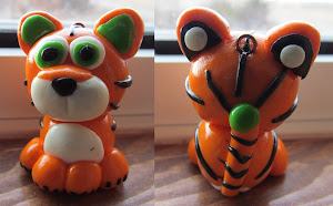 Polymer Clay Tiger