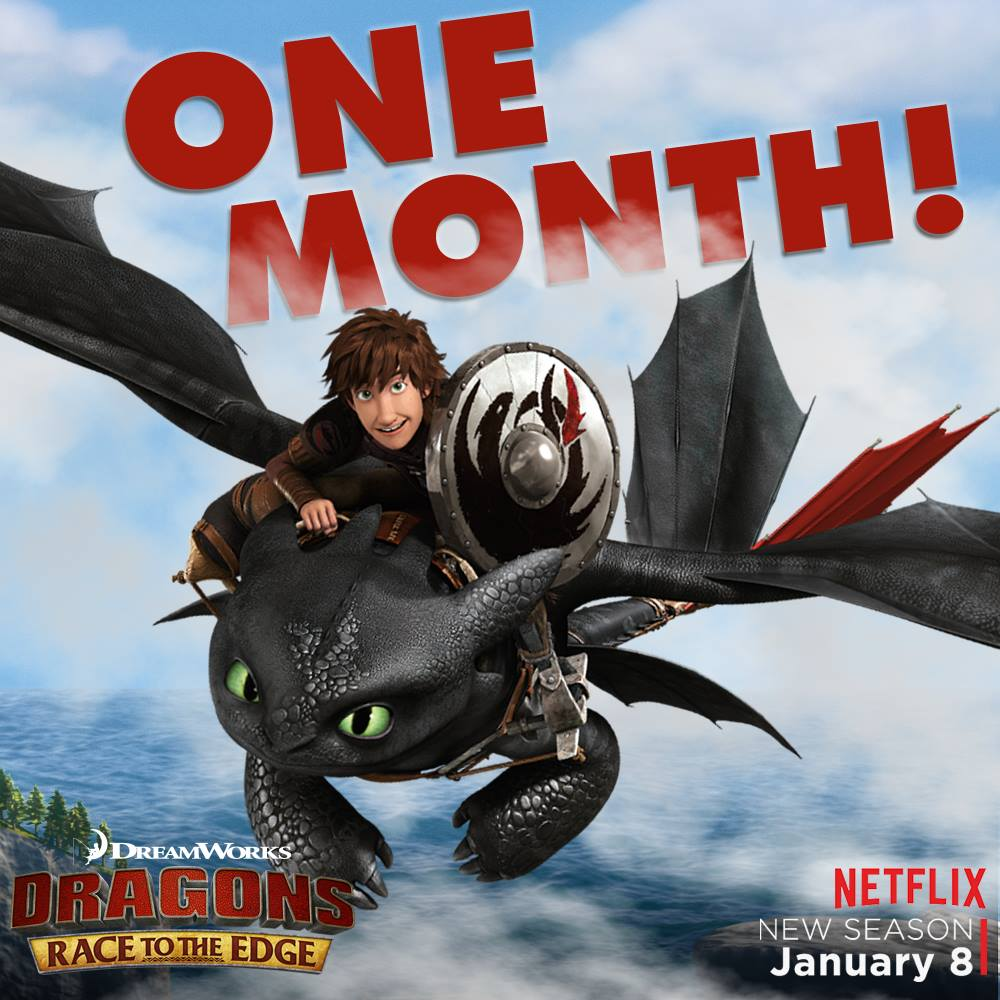 It's Just One Month Until The Next Season Of Race To The Edge Is Released  Onflix! Do You Have Any Questions About What Kinds Of New Dragons Will  Make An